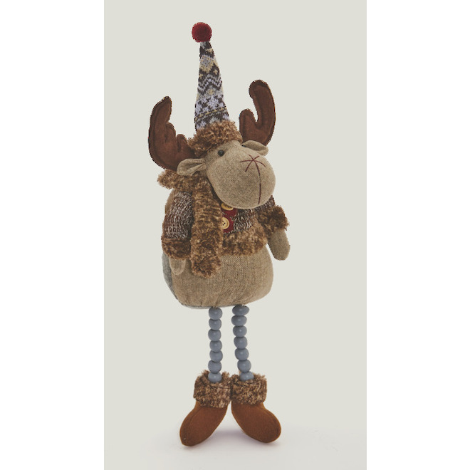 Holiday Living Holiday Living Plush Deer - 5.5-in x 3.9-in x 21.2-in - Grey EG134-ML-GB2515B