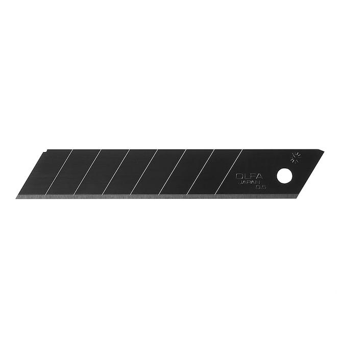 OLFA HD Ultra-Sharp Black Snap-Blade - LBB - 18 mm - 10/Pack
