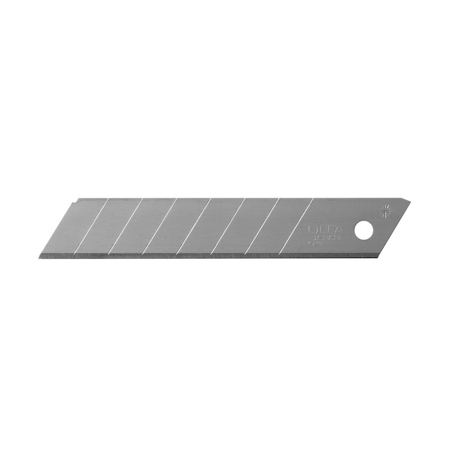 "OLFA Snap-Off Blades - Carbon Steel - 3/4"" - 50/Pack"
