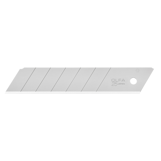 """Utility Knife Snap-Off Blades - 0.98"""" - 40-Pack"""