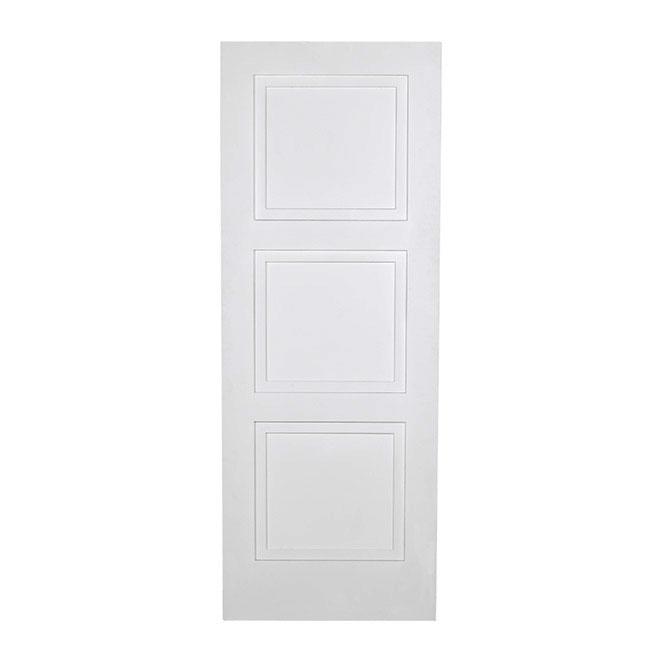 """Porte à 3 panneaux, 24"""" x 80"""""""