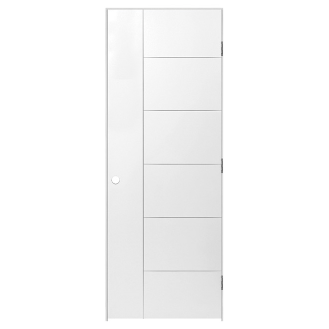 "Berkley Prehung Door - Left - Primed - 36"" x 80"" x 1 3/8"""