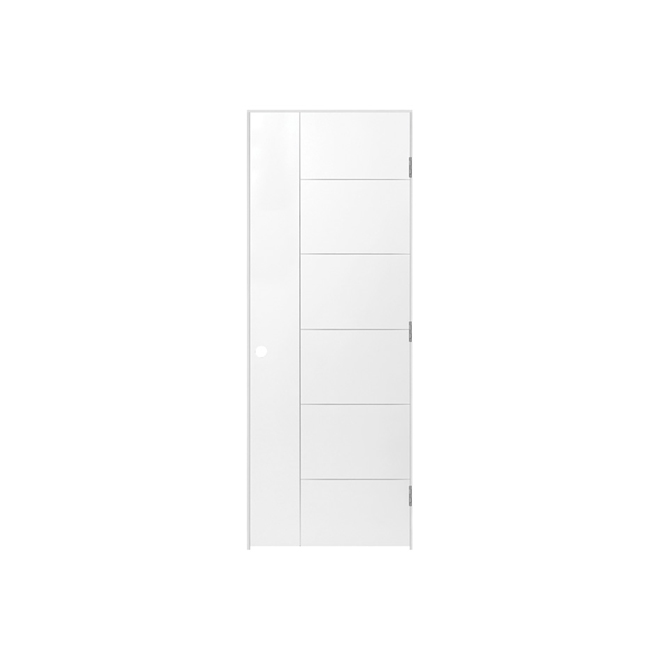 "Interior Panel Door - Right - 30"" x 80"" x 1 3/8"""