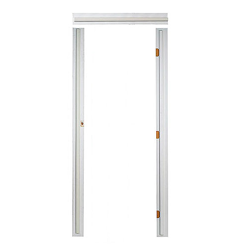 Single Pre-Machined Door Frame - 1/2-in x 3 9/16-in x 81 3/8-in