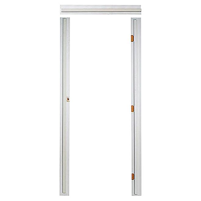 Single Pre-Machined Door Frame - 7/16'' x 4 9/16'' x 7'