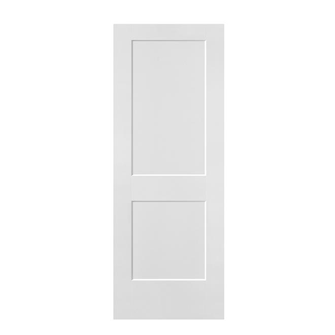 """Porte à 2 panneaux Masonite, panneau moulé, 24"""" x 80"""", apprêtée"""