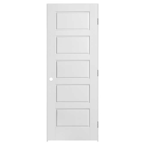 Riverside Prehung Door - Right - Primed - 28 in x 80 in x 1 3/8 in