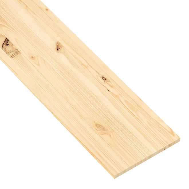 """Metrie Edge-Glued Panel """"Hobbyboard"""" - Spruce - 3/4"""" x 12"""" x 48"""" - Natural"""