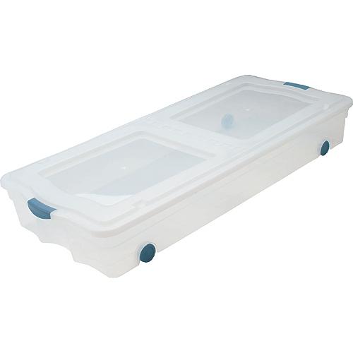 Boîte de rangement sur roulettes « Sous le lit »