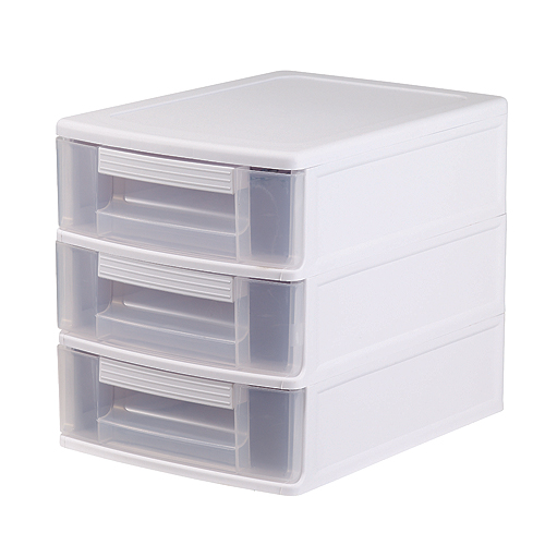 "3-Drawer Mini Chest - 10""x9.5""x12"" - White"