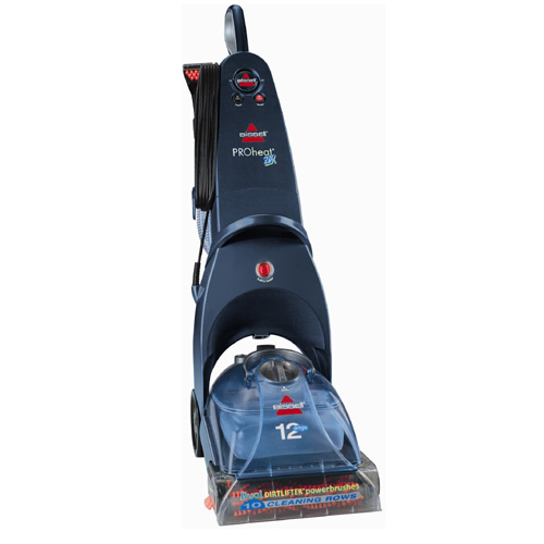 Vertical carpet cleaner