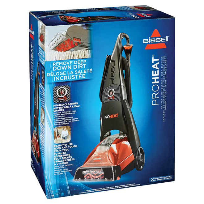 Vertical Carpet Cleaner - 3/4 Gallon - 22' Power Cord