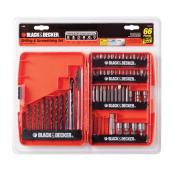 Drill Bit and Screwdriver Bit Set - 66-Pieces