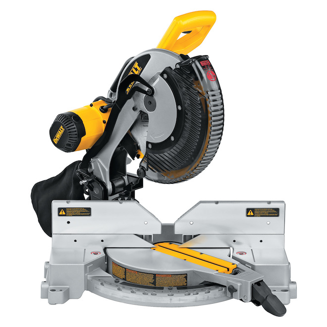 Compound mitre saw 12