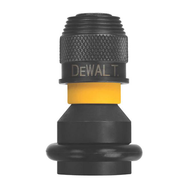 """Adaptateur d'impact, DeWalt, hexagonale, 1/2"""" à 1/4"""""""