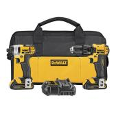 Drill/Driver and Impact Driver Combo Kit - Cordless - 20 V