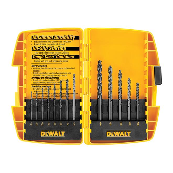 Drill Bit Set - DeWalt - 13 Pieces -