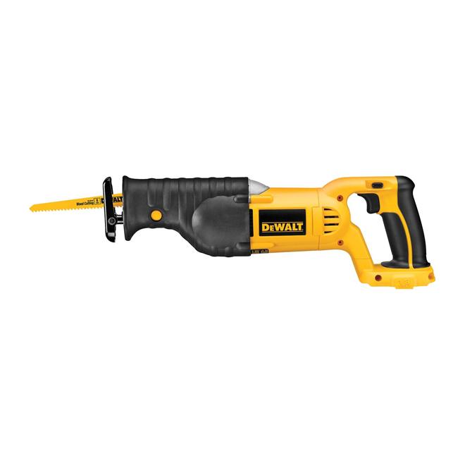 """Reciprocating Saw - Cordless - 1 1/8"""" - 18 V"""