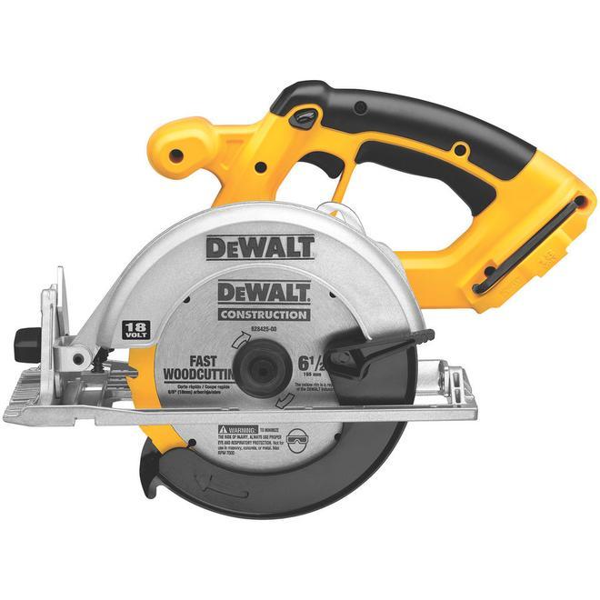 """Circular Saw - 6 1/2"""" - 18 V"""