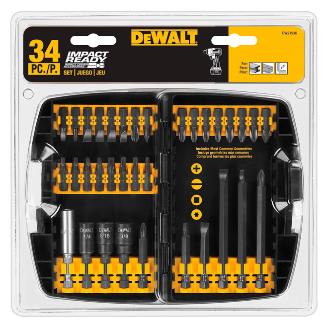 34-Piece Screwdriver Bit Set