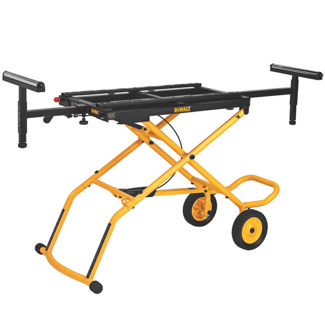 Dewalt DWX726 Mitre Saw Stand - Up to 8' - Black and Yellow