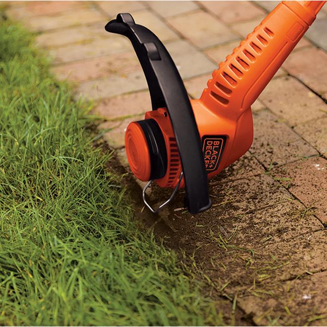Coupe-herbe Black & Decker, coupe-bordure, 4,4 A, fauchée de 13 po