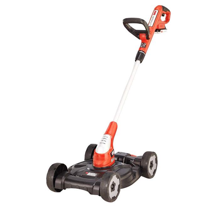 Black & Decker Cordless Lawnmower - 3-in-1 - 12-in - 20 V