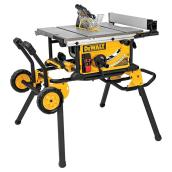 Dewalt Table Saw with Rolling Stand - 10