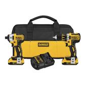Drill/Driver and Impact Driver Combo Kit - Compact - 20 V