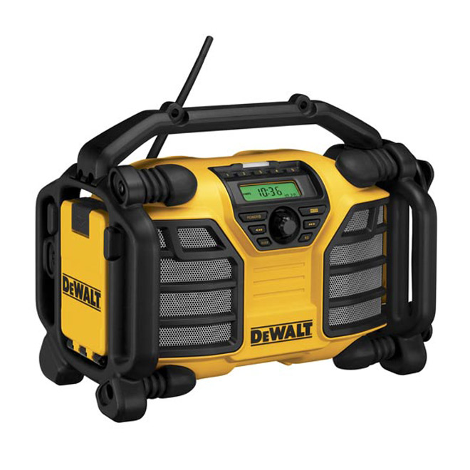 Heavy-Duty Radio Charger - Electric or Cordless - 12 V-20 V
