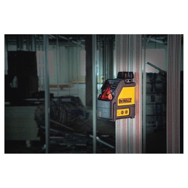 Niveau laser automatique en croix