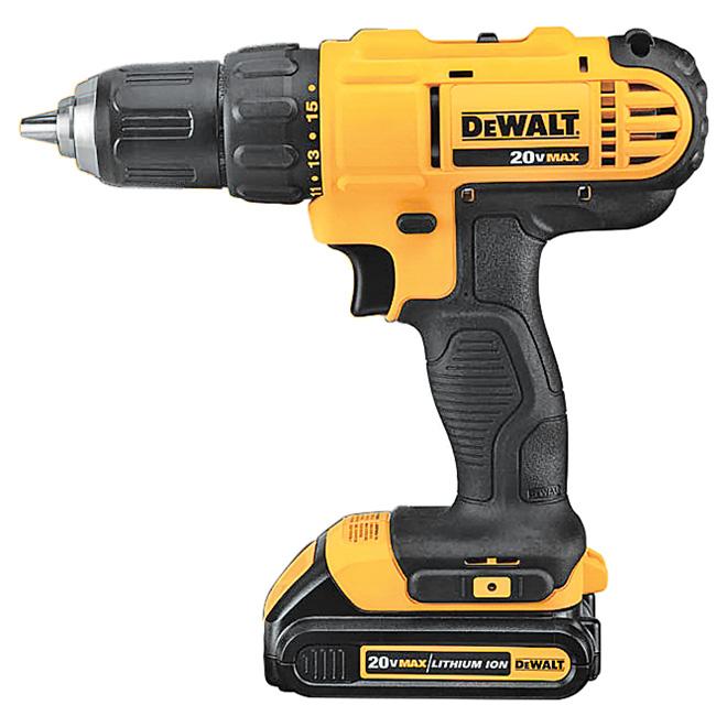 Cordless Compact Drill/Driver Kit - 20 V Max