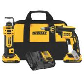 Dewalt Magnesium Drywall Screwgun Kit - 20 V