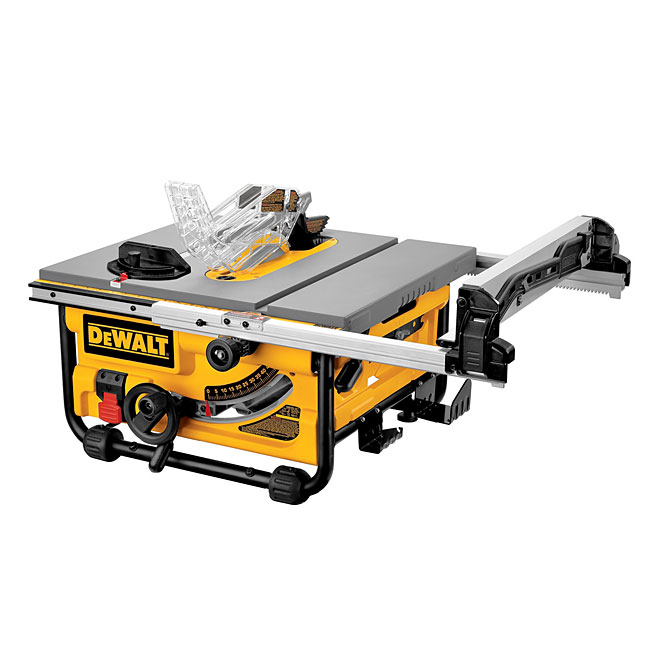 "Compact Table Saw - 10"" - 15 A"