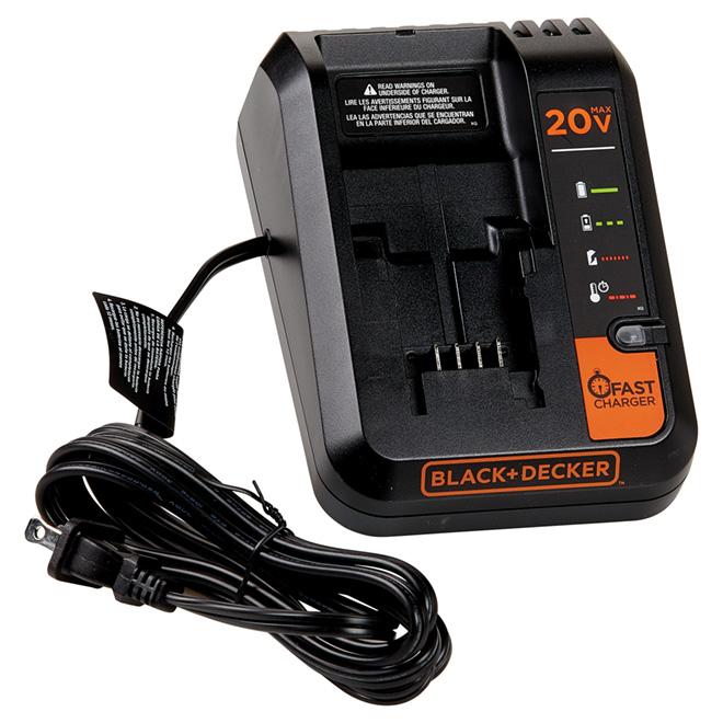 Chargeur rapide pour batterie au lithium-ion 12-20V Max