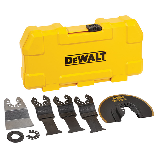 Set of 5 Blades for Oscillating Tools