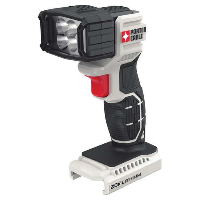 Cordless work light - 4 LED - 20 V