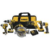 Dewalt Set of 5 Cordless Tools - 20 V Lithium-Ion