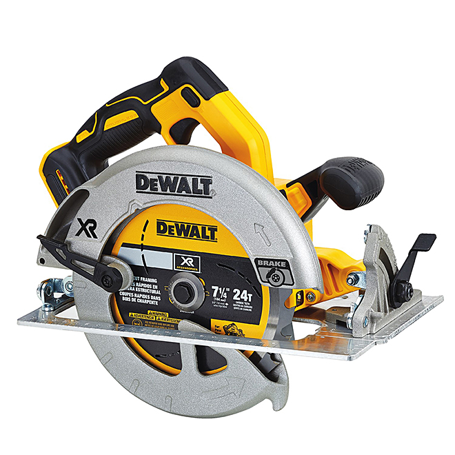 """Dewalt Cordless Circular Saw - 7 1/4"""" - 20V"""