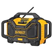 20V Radio Charger with Bluetooth (MD) - Yellow and Black