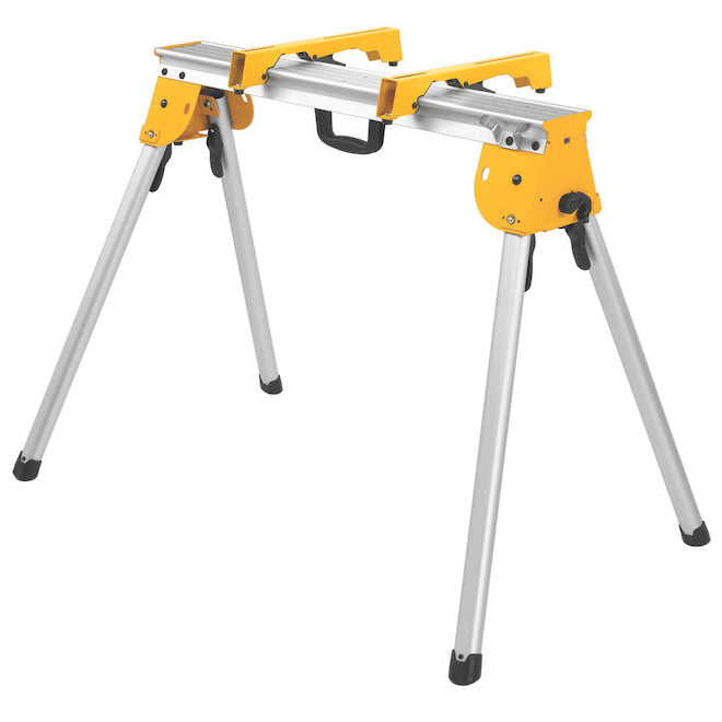 Miter Saw Stand - Metal - Yellow