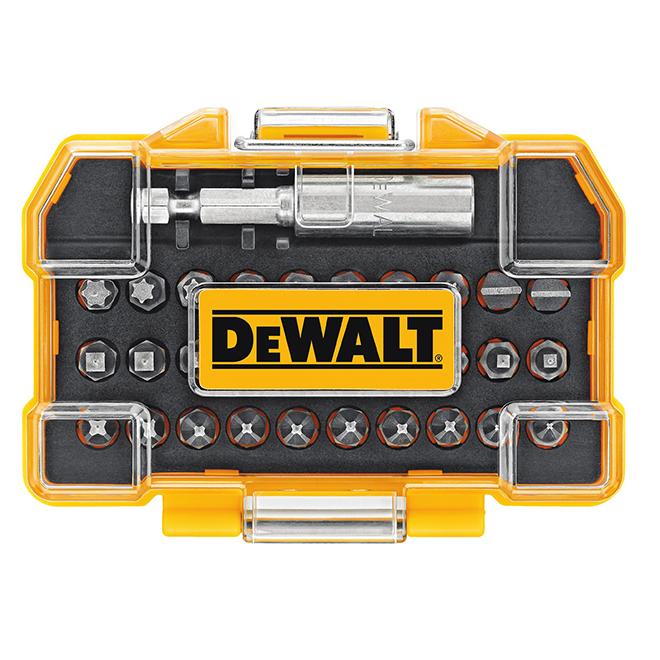 Jeu de 31 embouts pour tournevis, DWAX100