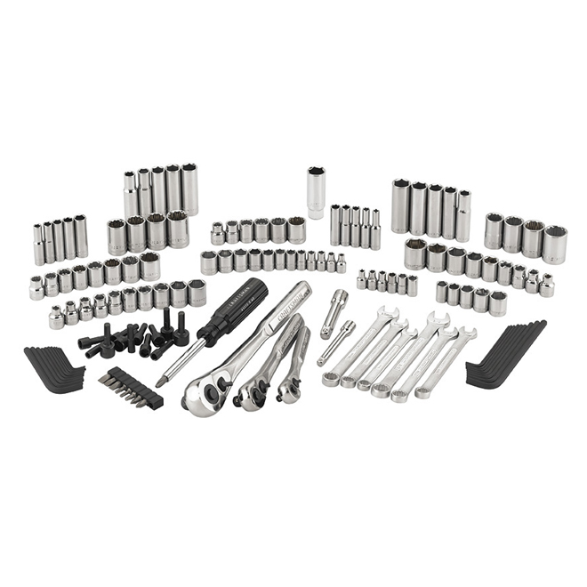 Mechanics Tool Set - Steel - 137 Pieces