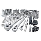 Mechanics Tool Set - Steel - 165 Pieces
