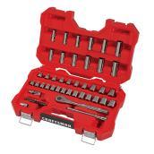 Ensemble d'outils pour mécanicien, acier, 51morceaux