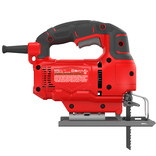 Corded Jig Saw - 5 A - 3000 SPM - 4 Speeds