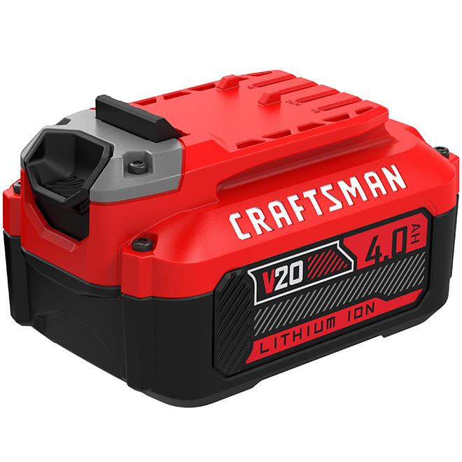 Batterie V20, Lithium Ion, 20 V, 4 AH