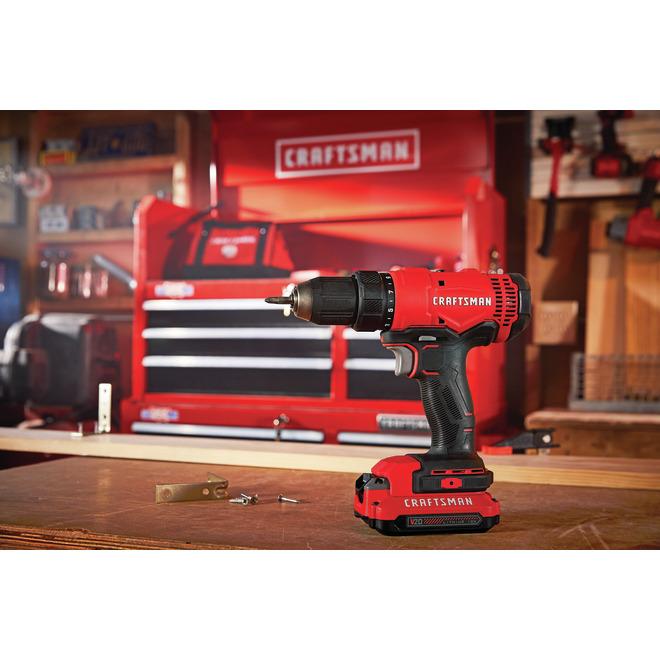 "Cordless VSR Drill/Driver - 300 W - 1/2"" - 2 Speeds"