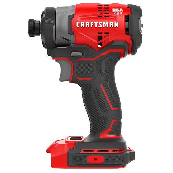 "Brushless cordless 1/4"" Impact Driver - 20 V - Tool Only"