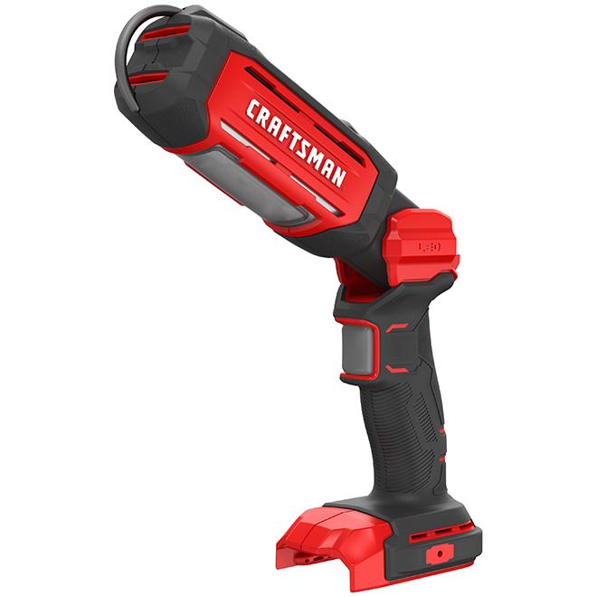 Lumière de travail, 20 V, DEL, rouge et noir
